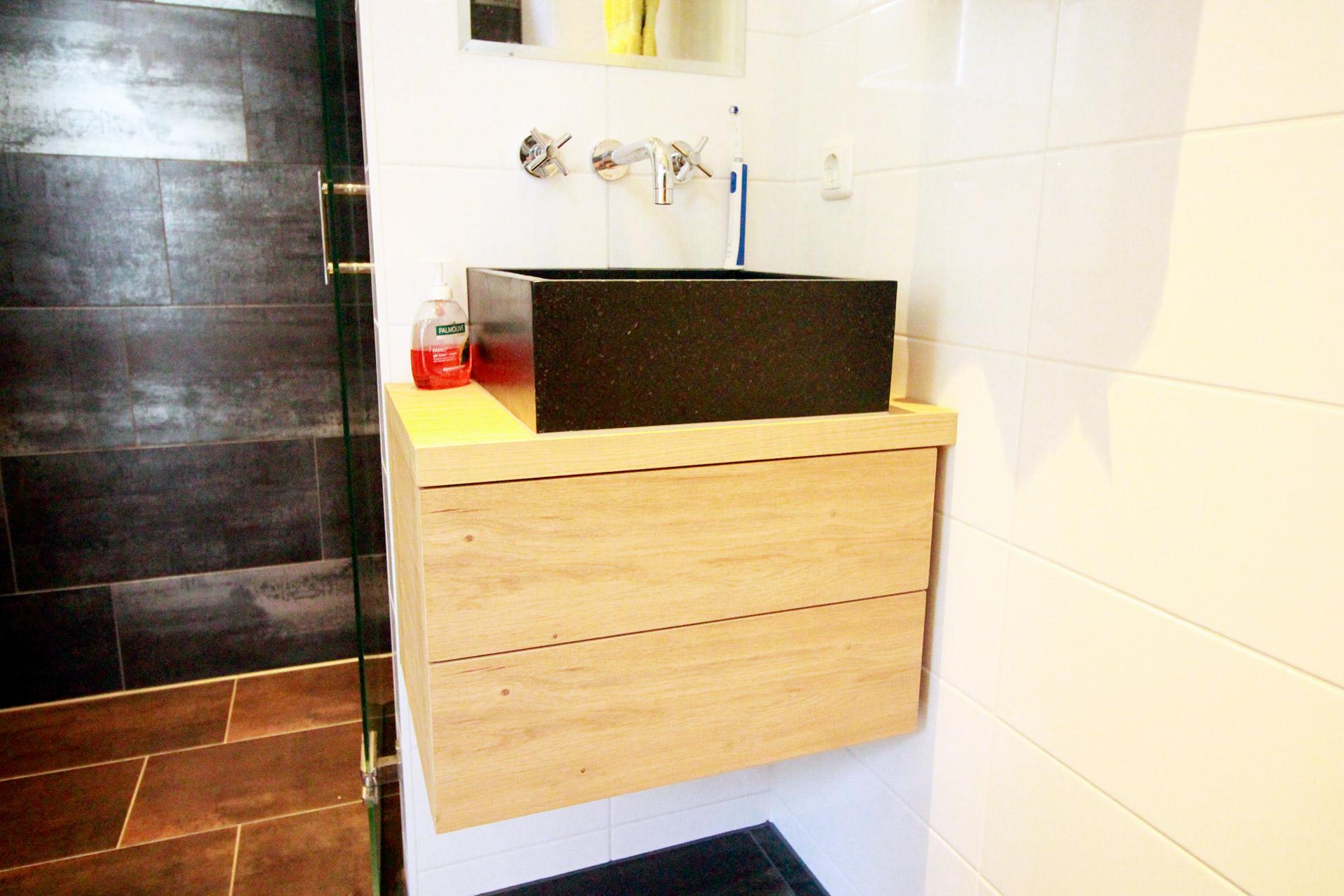 Maatwerk badkamermeubel